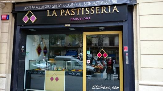 La Pastisseria Barcelona at Carrer d'Aragó, 228, BCN.