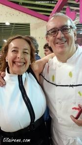 Chef Xabier Gutiérrez & Irene Morcillo (tita Irene)