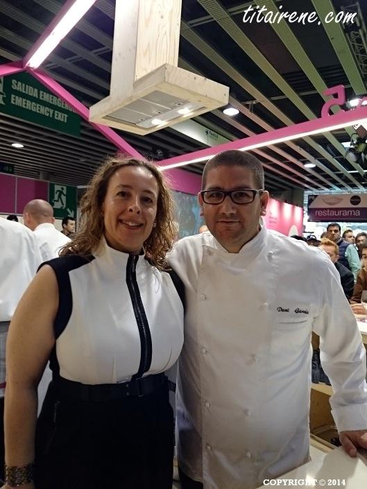 Chef Dani García & Irene Morcillo (tita Irene)