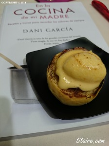 Eggs Benedictines by Chef Dani García