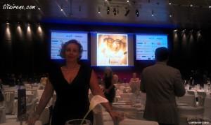 At Santi Santamaria's tribute, Hotel Hesperia Tower, 9th July 2012