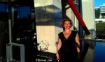 Irene Morcillo at Chef Santi Santamaria's tribute before the dinner