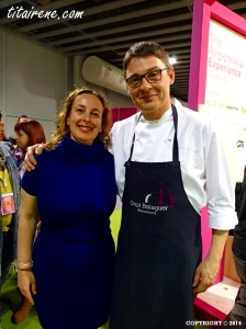Chef Pastry Oriol Balaguer & Irene Morcillo (tita Irene)