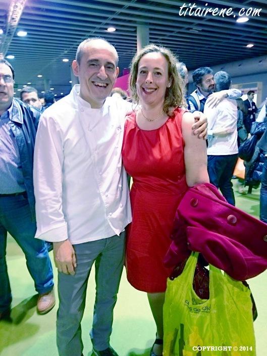 Chef Paco Pérez & Irene Morcillo (tita Irene)