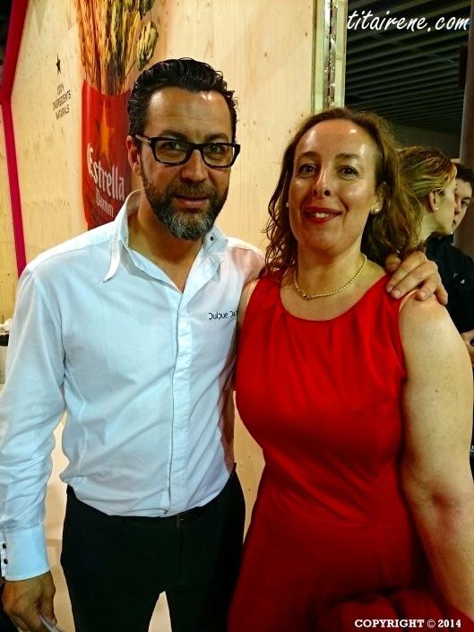 Chef Quique Dacosta and Irene Morcillo (tita Irene)