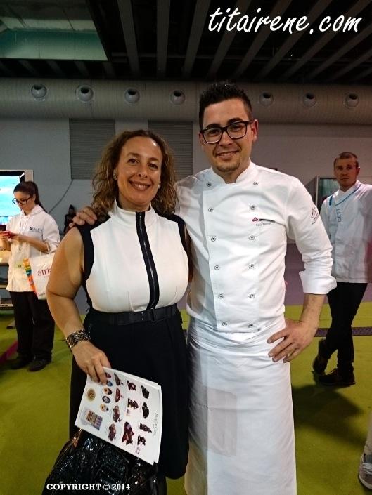 Chef Pastry Raúl Bernal & Irene Morcillo (tita Irene)