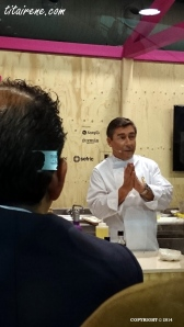 Chef Joan Roca at his Masterclass in Alimentaria Barcelona last 1st of April,2014