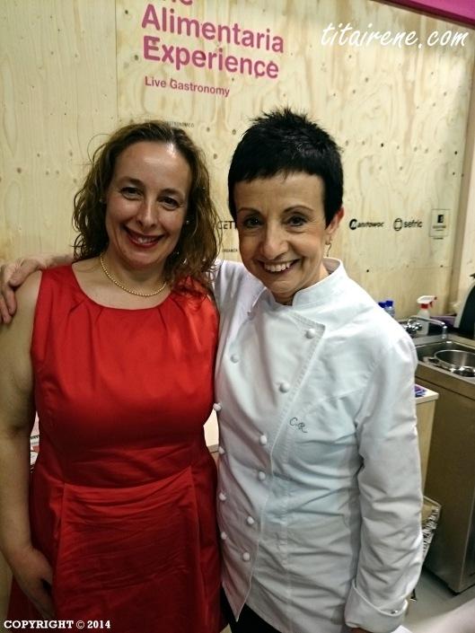 Chef Carme Ruscalleda & Irene Morcillo (tita Irene)