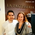 Pastry chef Josep Maria Rodríguez and Irene